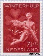 Nederland NL 426  1944 Winterhulp-Volksdienst 7½+7½ cent  Gestempeld