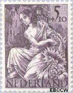 Nederland NL 451  1946 Nationale-hulpzegel 5+10 cent  Postfris