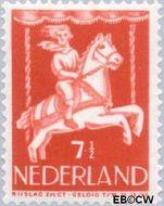 Nederland NL 471  1946 Kind in draaimolen 7½+2½ cent  Gestempeld