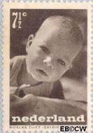 Nederland NL 497  1947 Levensstadia kind 7½+2½ cent  Gestempeld