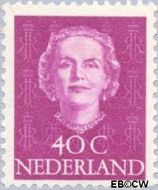 Nederland NL 528  1949 Koningin Juliana- Type 'En Face' 40 cent  Postfris