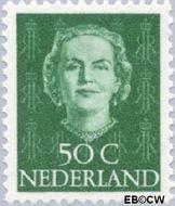 Nederland NL 531  1949 Koningin Juliana- Type 'En Face' 50 cent  Gestempeld