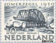 Nederland NL 554  1950 Wederopbouw 10+5 cent  Postfris