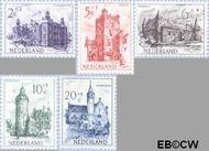 Nederland NL 568#572  1951 Kastelen   cent  Gestempeld