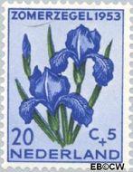 Nederland NL 606  1953 Bloemen 20+5 cent  Gestempeld