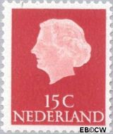 Nederland NL 619b  1967 Koningin Juliana- Type 'En Profile' 15 cent  Postfris