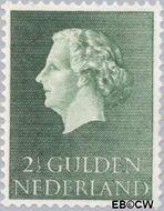 Nederland NL 638  1955 Koningin Juliana- Type 'En Profile' 250 cent  Gestempeld