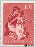Nederland NL 652  1954 Opvoeding en leren 10+5 cent  Postfris