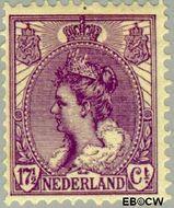 Nederland NL 66  1906 Koningin Wilhelmina- 'Bontkraag' 17½ cent  Gestempeld
