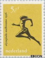 Nederland NL 677  1956 Olympische Spelen- Melbourne 5+3 cent  Postfris