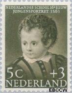 Nederland NL 684  1956 Kinderportretten 5+3 cent  Postfris