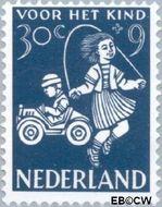 Nederland NL 719  1958 Kinderspel 30+9 cent  Gestempeld