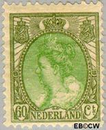 Nederland NL 76  1920 Koningin Wilhelmina- 'Bontkraag' 60 cent  Gestempeld