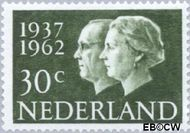 Nederland NL 765  1962 Koningin Juliana- Huwelijksjubileum 30 cent  Gestempeld