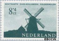 Nederland NL 788  1963 Molens 8+4 cent  Gestempeld