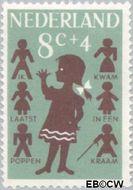Nederland NL 804  1963 Kinderrijmpjes 8+4 cent  Gestempeld