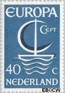 Nederland NL 869  1966 C.E.P.T.- Scheepje 40 cent  Gestempeld