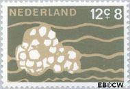 Nederland NL 877  1967 Strandvondsten 12+8 cent  Gestempeld