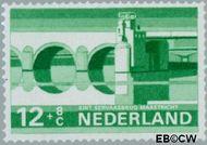 Nederland NL 901  1968 Bruggen 12+8 cent  Gestempeld