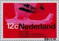 Nederland NL 909  1968 Luchtvaart 12 cent  Gestempeld