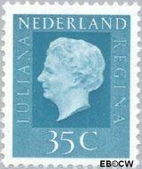 Nederland NL 942  1972 Koningin Juliana- Type 'Regina' 35 cent  Gestempeld