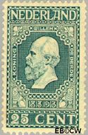Nederland NL 96  1913 Onafhankelijkheid 25 cent  Gestempeld