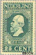 Nederland NL 96  1913 Onafhankelijkheid 25 cent  Postfris