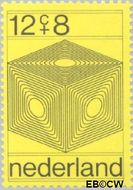 Nederland NL 965  1970 Computertekeningen 12+8 cent  Gestempeld
