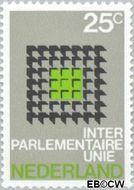 Nederland NL 973  1970 I.P.U. Conferentie 25 cent  Gestempeld