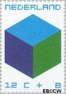 Nederland NL 978  1970 Kubus 12+8 cent  Postfris