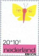 Nederland NL 997  1971 Elementen van de Kinderwereld 20+10 cent  Gestempeld