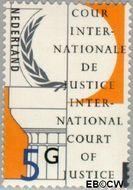 Nederland NL D57  1989 Cour Internationale de Justice 500 cent  Gestempeld