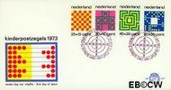 Nederland NL E129  1973 Spelletjes  cent  FDC zonder adres