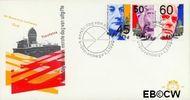 Nederland NL E180  1980 Politici  cent  FDC zonder adres