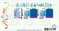 Nederland NL E260a  1988 Kindertekeningen  cent  FDC zonder adres