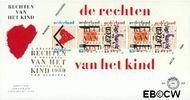 Nederland NL E269a  1989 Rechten Kind  cent  FDC zonder adres