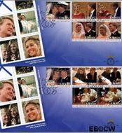 Nederland NL E493c  2004 Koninklijke Familie (III)  cent  FDC zonder adres