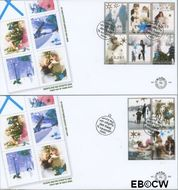 Nederland NL E506  2004 Decembervoorstellingen  cent  FDC zonder adres