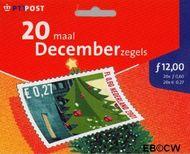 Nederland NL HB2014-33  2001 Kerstmotieven 60 cent  Postfris