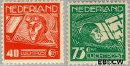 Nederland NL LP4#LP5  1928 Luchtrecht  cent  Gestempeld
