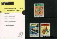 Nederland NL M102  1992 Muziek maken  cent  Postfris