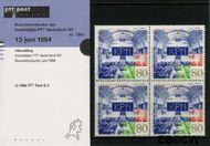 Nederland NL M124a  1994 Beursgang K.P.N.  cent  Postfris