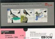 Nederland NL M128  1994 Postzegeltentoonstelling Fepapost  cent  Postfris