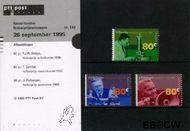 Nederland NL M142  1995 Nobelprijswinnaars  cent  Postfris
