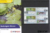 Nederland NL M234  2000 Bedreigde diersoorten  cent  Postfris