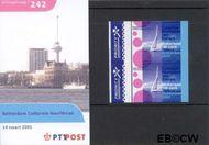 Nederland NL M242  2001 Rotterdam culturele hoofdstad  cent  Postfris
