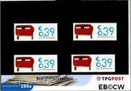 Nederland NL M286a  2003 Bedrijfspostzegels met tab  cent  Postfris