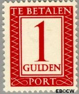 Nederland NL P105  1947 Portzegel 100 cent  Gestempeld
