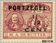 Nederland NL P31  1907 Portzegel ½ op 1 cent  Gestempeld
