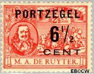 Nederland NL P36  1907 Portzegel 6½ op 2½ cent  Gestempeld